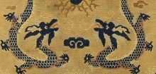 Detail of pillar rug from the museum's collections