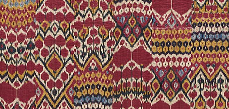 Detail of ikat