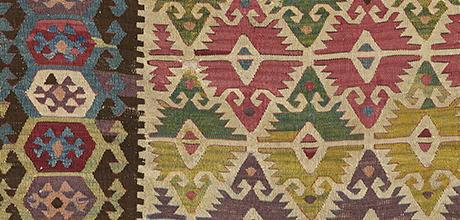 Detail of kilim