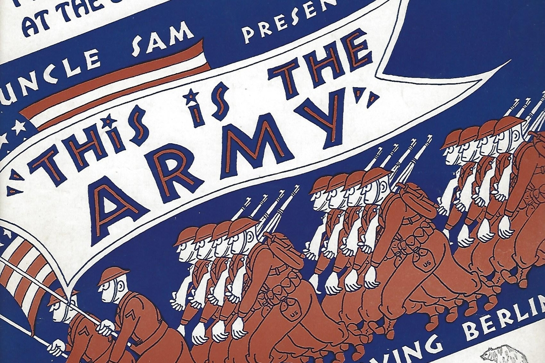 """Poster for """"This is the Army"""""""