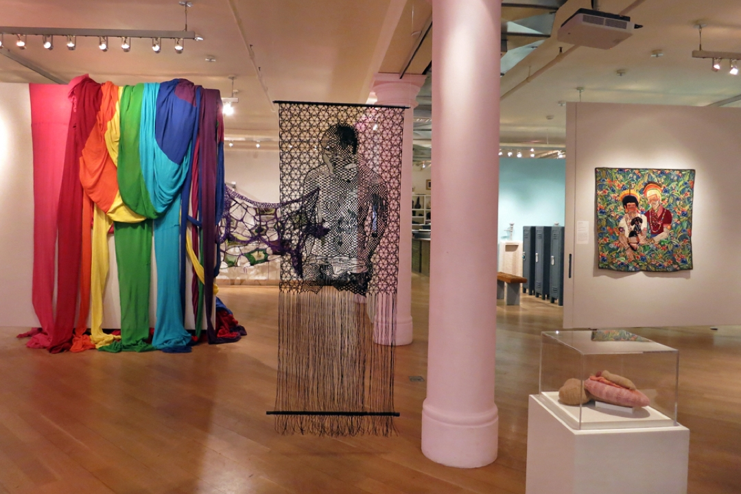 Queer Threads exhibition on display
