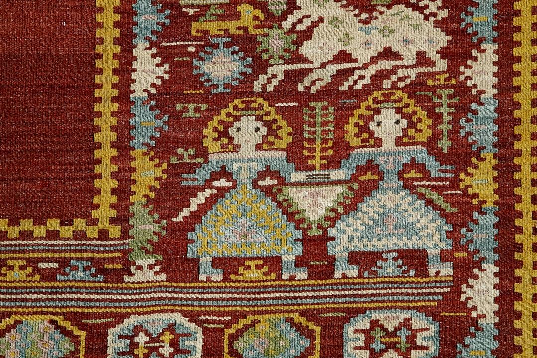 Detail of Sardinian textile