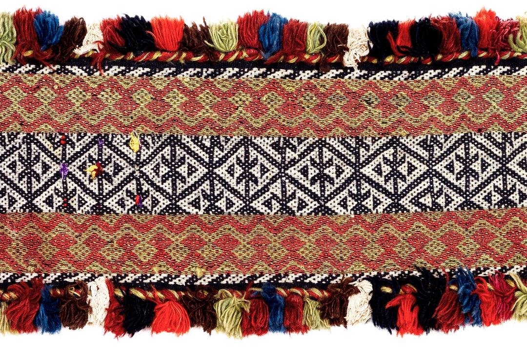 Woven Iranian textile