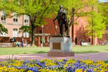 University Yard at George Washington University