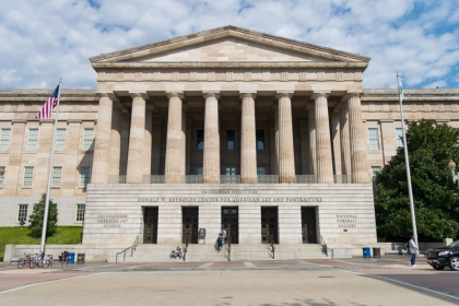 Smithsonian American Art Museum and National Portrait Gallery facade