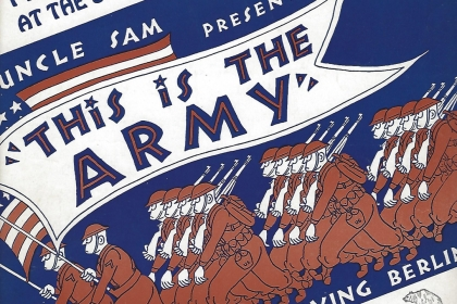 "Poster for ""This is the Army"""