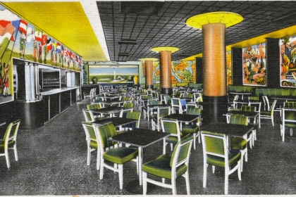 Artistic rendering of the Mayfair Cafe